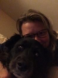 Pupper selfie.